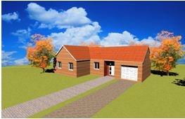 constructeur maisons france for t pr sente sa maison standing 4 100m pr t finir. Black Bedroom Furniture Sets. Home Design Ideas