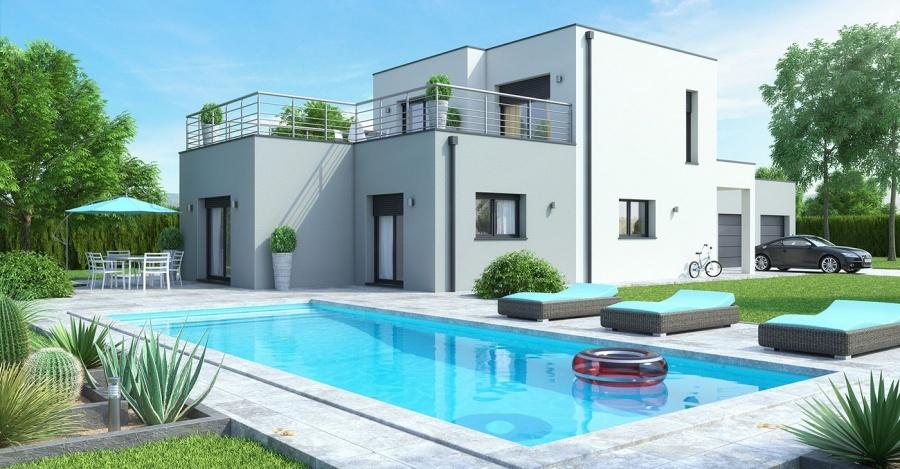 Super Constructeur Maisons ideales présente sa maison Maison  DP99