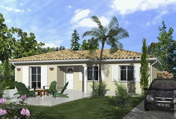 Constructeur maisons lca pr sente sa maison mod le yucca for Constructeur lca