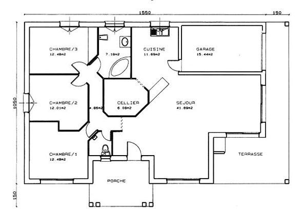 Constructeur maisons lca pr sente sa maison mod le glycine - Maison pret a decorer ...