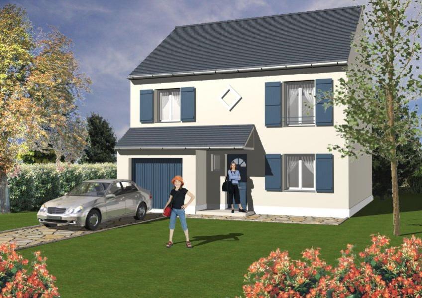 constructeur maisons s same pr sente sa maison mod le jade 90. Black Bedroom Furniture Sets. Home Design Ideas