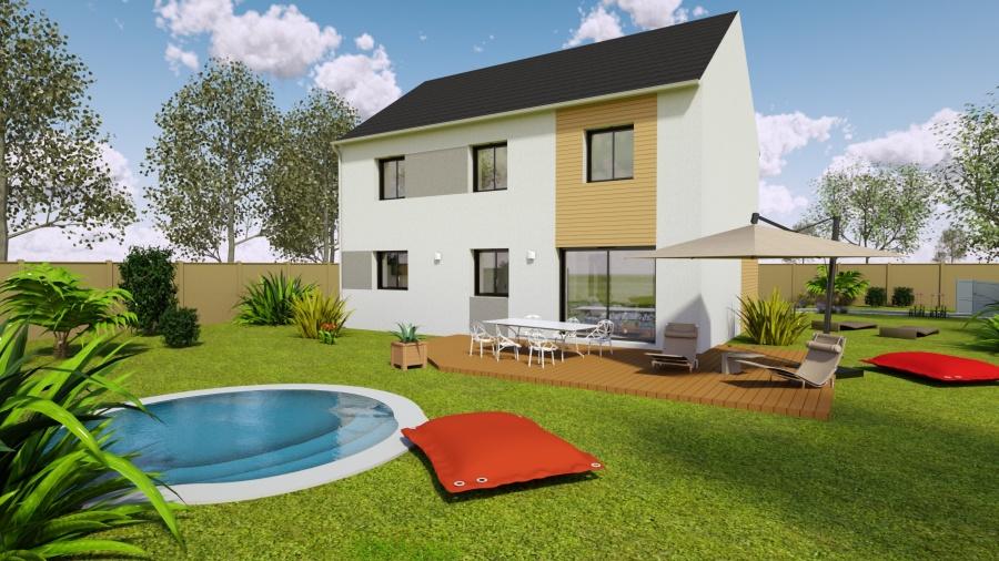 Constructeur maisons s same pr sente sa maison mod le - Simulateur plan maison ...