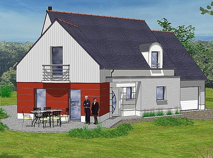 Constructeur maisons t va pr sente sa maison grace for Construction maison 150000