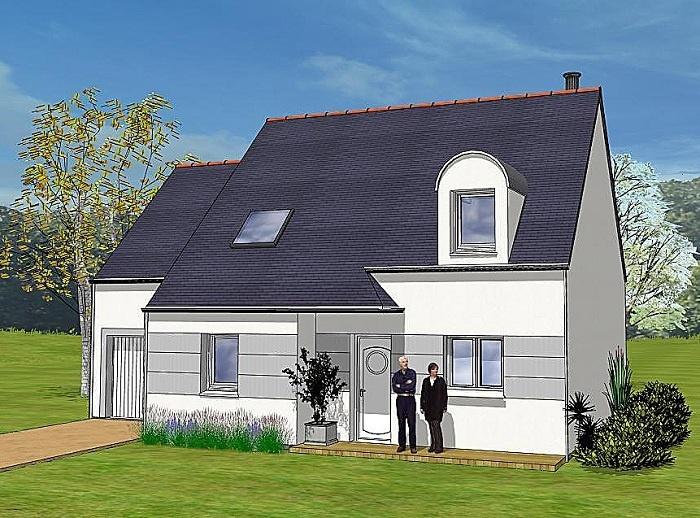 Constructeur maisons t va pr sente sa maison lisa for Construction maison 150000