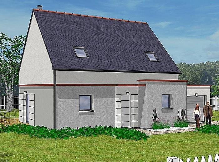 Constructeur maisons t va pr sente sa maison ambra for Construction maison 150000
