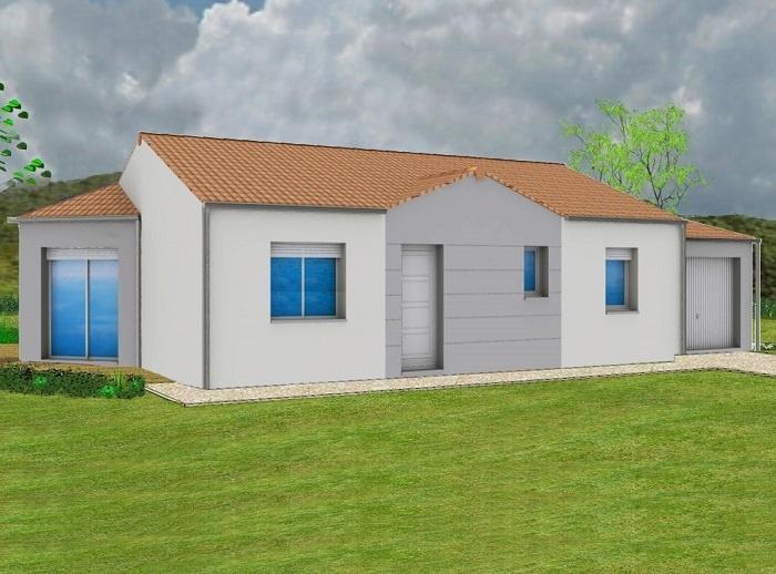 Constructeur maisons t va pr sente sa maison aubade sud for Construction maison 150000
