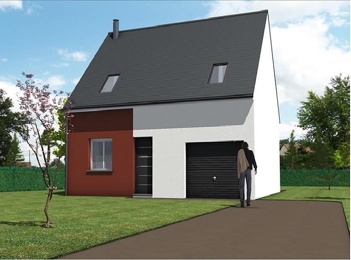 constructeur maisons t va pr sente sa maison eka 3 chs. Black Bedroom Furniture Sets. Home Design Ideas