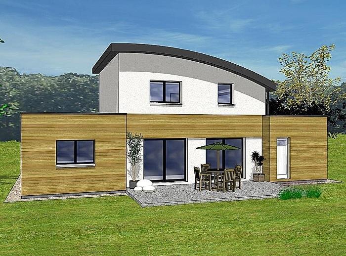 Constructeur maisons t va pr sente sa maison lena for Construction maison 150000