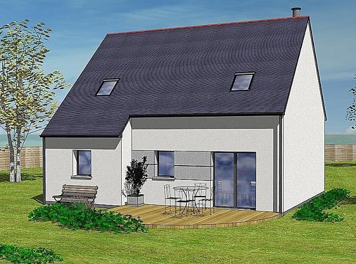 Constructeur maisons t va pr sente sa maison laura for Comparateur assurance garage