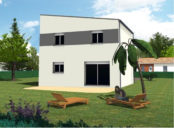 constructeur maisons t va pr sente sa maison kalys toit plat 3chs. Black Bedroom Furniture Sets. Home Design Ideas