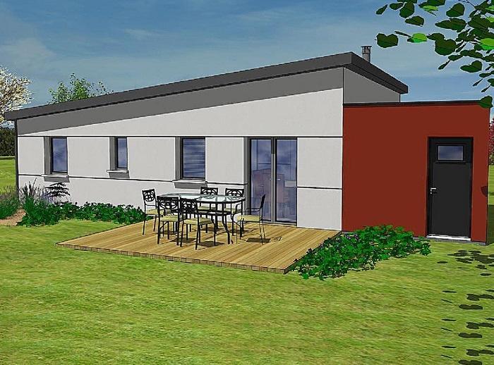 constructeur maisons t va pr sente sa maison karla toit plat. Black Bedroom Furniture Sets. Home Design Ideas