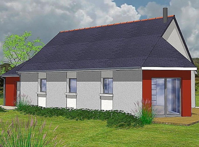 Constructeur maisons t va pr sente sa maison aubade nord for Construction maison 150000