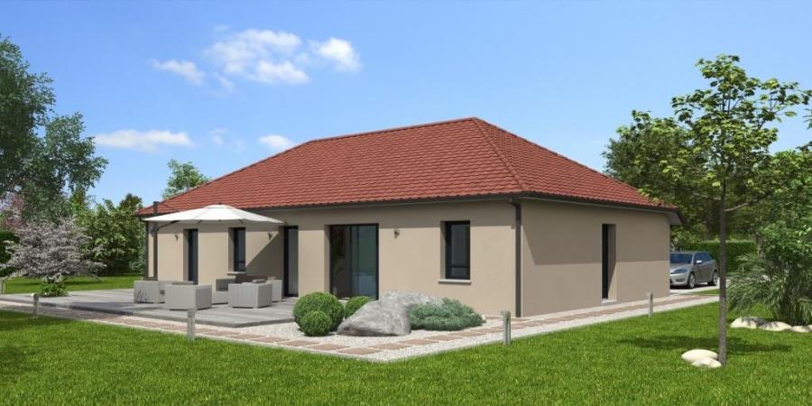 constructeur natilia amiens pr sente sa maison natigao 3 chambres. Black Bedroom Furniture Sets. Home Design Ideas