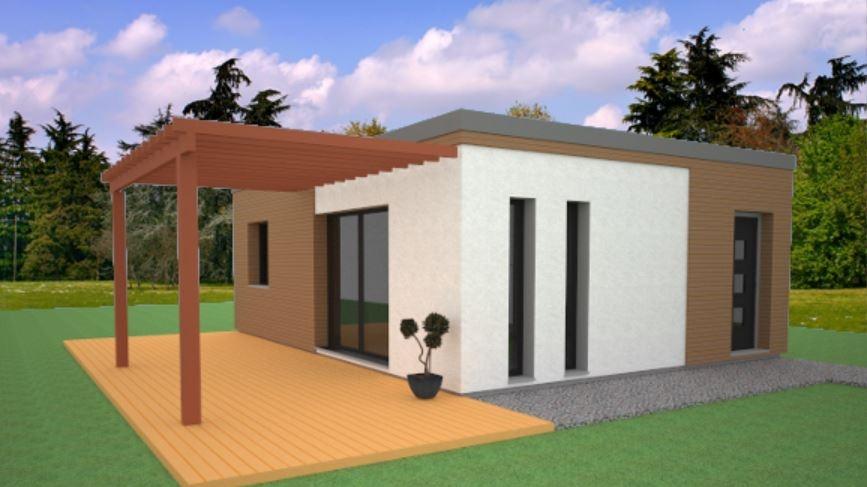 Constructeur Pce maison bois présente sa maison Marj