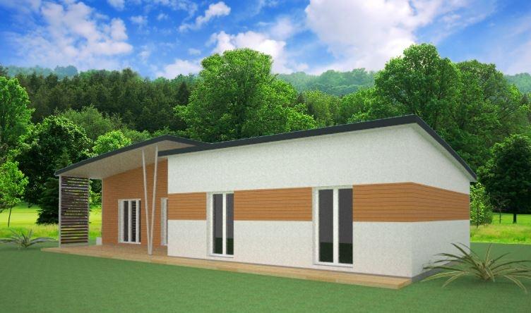 Constructeur Pce maison bois présente sa maison Riga