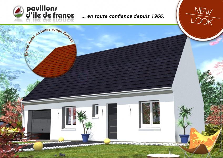 Constructeur pavillons d 39 ile de france pr sente sa maison for Constructeur de maison en ile de france