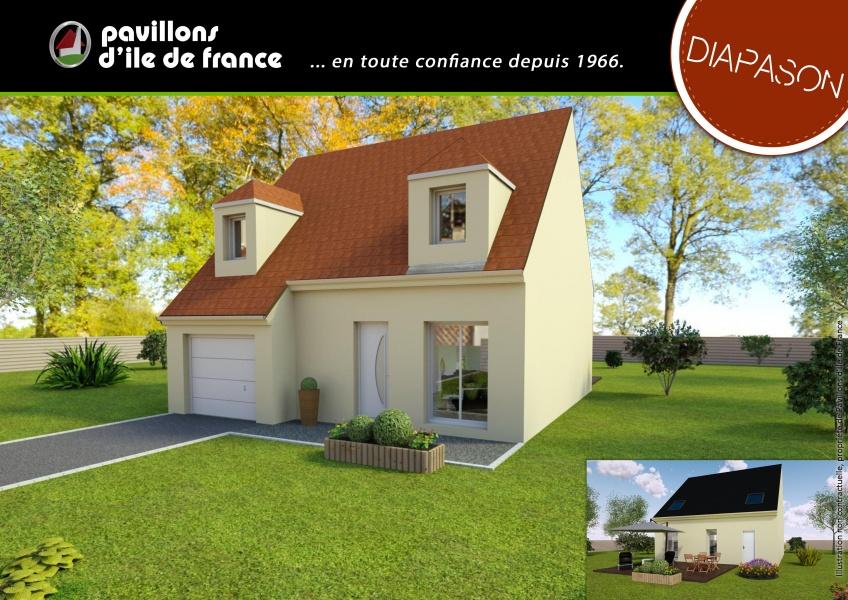 Constructeur pavillons d 39 ile de france pr sente sa maison for Modele maison ile de france