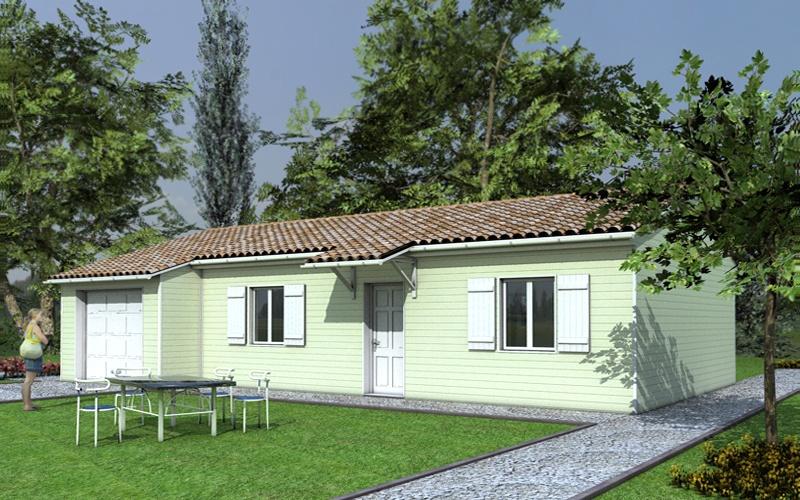 Constructeur perigord maisons bois pr sente sa maison fregate pr t d corer - Maison pret a decorer ...