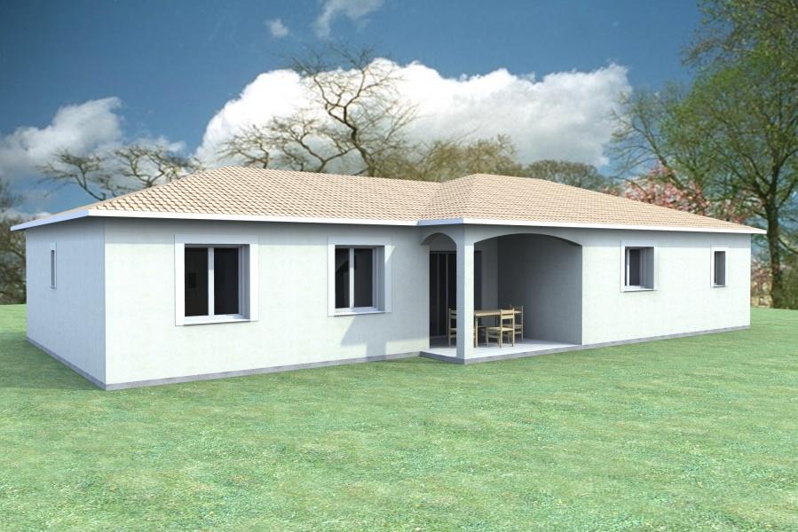 Constructeur scot construction pr sente sa maison la nicoise for Construction maison 150000