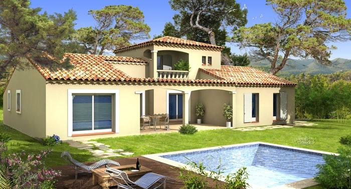 Constructeur villas prisme pr sente sa maison villa adriana - Maisons provencales photos ...