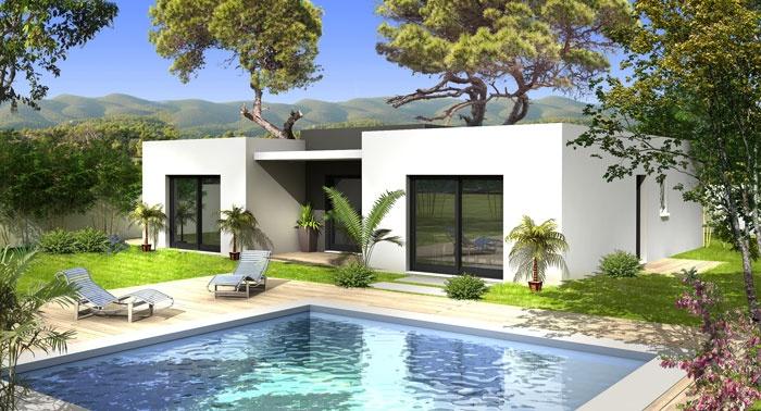 constructeur villas prisme pr sente sa maison villa samita. Black Bedroom Furniture Sets. Home Design Ideas