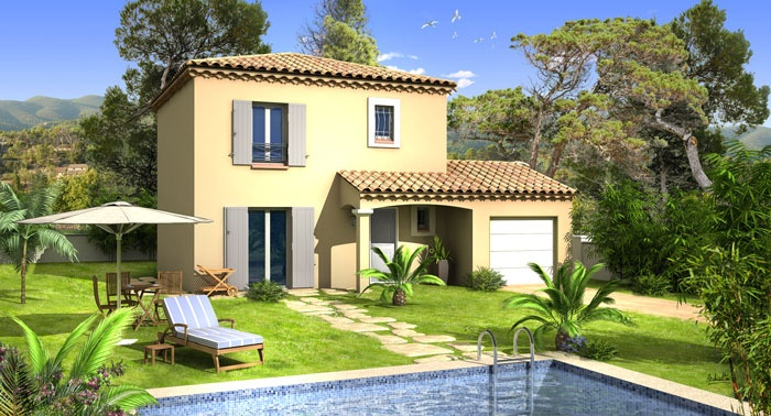 Constructeur villas prisme pr sente sa maison villa julia - Petite maison de campagne ...