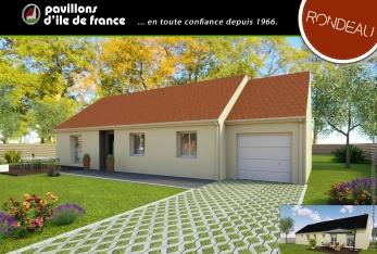 constructeur pavillons d 39 ile de france pr sente sa maison mod le premiere clef. Black Bedroom Furniture Sets. Home Design Ideas