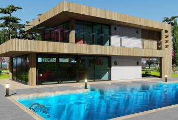 Photo maison Chouette BOIS