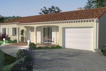 Photo maison AMINA Plain Pied avec garage intégré