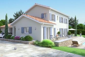 Photo maison Maison bastide type corps de ferme