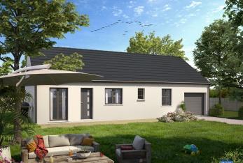 Photo maison Modèle Alya 60 avec garage