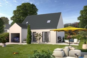 Photo maison Modèle MIRA 75 avec garage