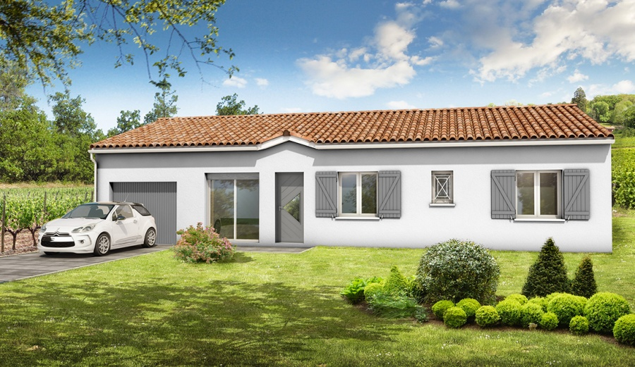 constructeur demeures d 39 aquitaine pr sente sa maison mod le eucalyptus. Black Bedroom Furniture Sets. Home Design Ideas
