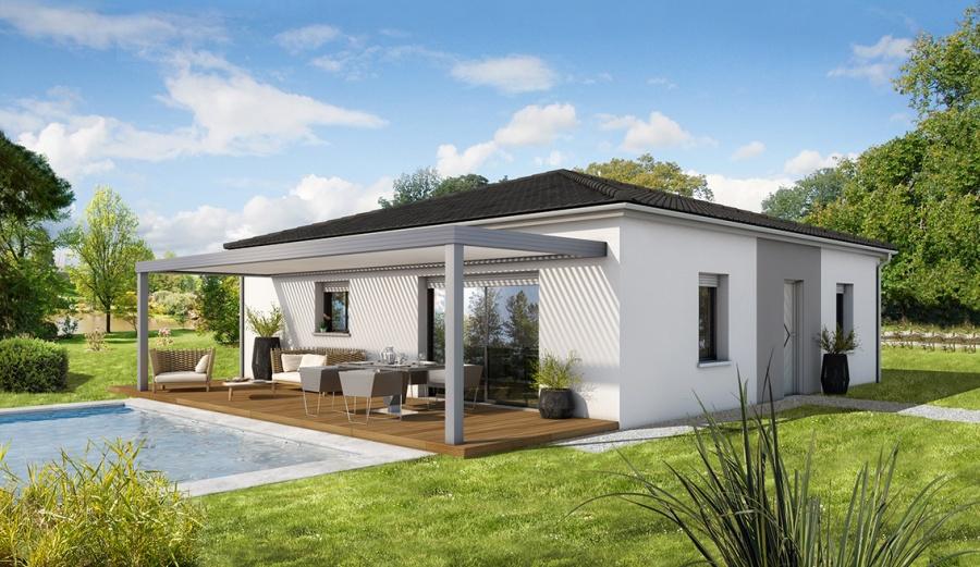 constructeur demeures d 39 aquitaine pr sente sa maison mod le sureau. Black Bedroom Furniture Sets. Home Design Ideas