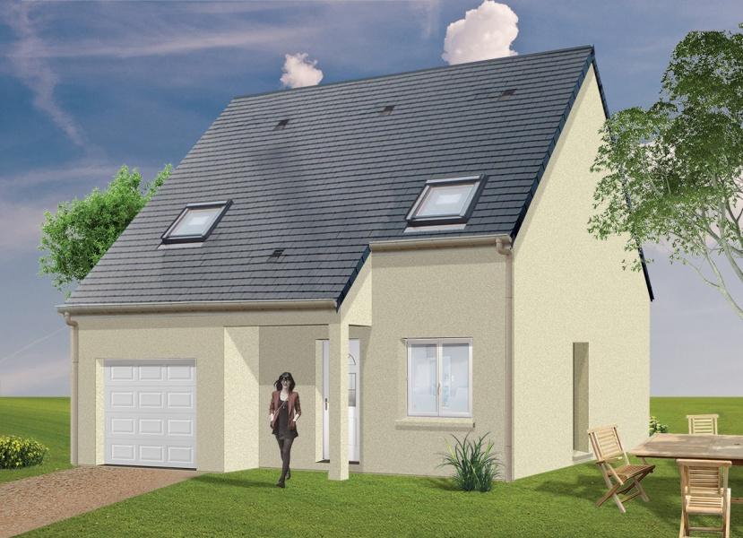 Constructeur espace2vie pr sente sa maison neuve colomby sur thaon 14610 pr t d corer - Maison pret a decorer ...
