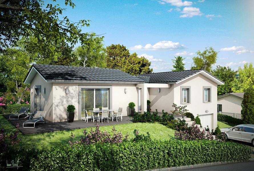constructeur la maison des compagnons pr sente sa maison mc 32. Black Bedroom Furniture Sets. Home Design Ideas
