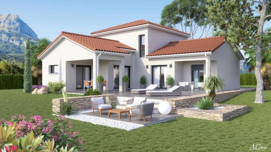 Constructeur la maison des compagnons pr sente sa maison mc 49 for Constructeur maison 49