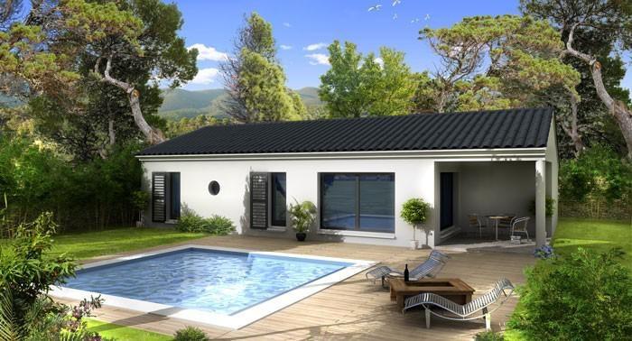 Constructeur maison archi concept pr sente sa maison neuve for Prix maison cle en main sans terrain