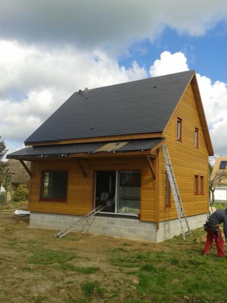 constructeur maison bois d riv s pr sente sa maison le quebec. Black Bedroom Furniture Sets. Home Design Ideas