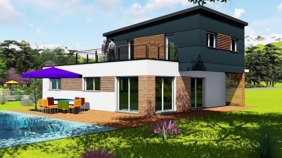 constructeur chouette construction pr sente sa maison chouette m tallique. Black Bedroom Furniture Sets. Home Design Ideas