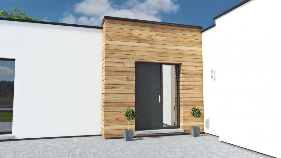 Constructeur maisonneuve pr sente sa maison maison cubique for Comparateur assurance garage