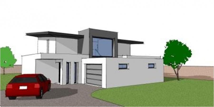 constructeur maisons arteco pr sente sa maison cubique. Black Bedroom Furniture Sets. Home Design Ideas