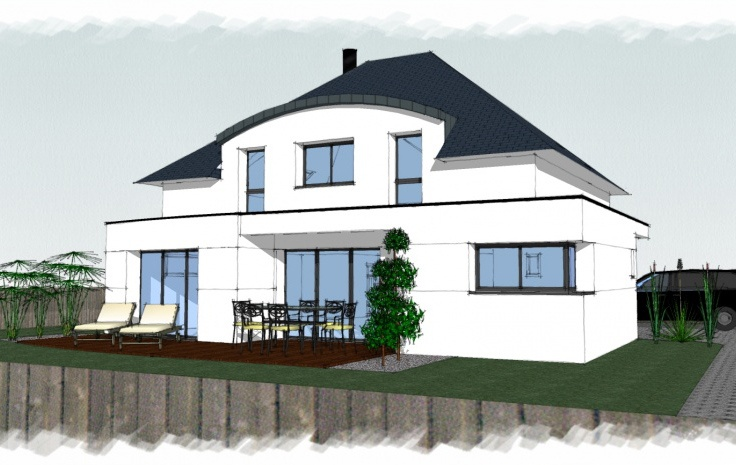 Constructeur maisons arteco pr sente sa maison for Comparateur assurance garage
