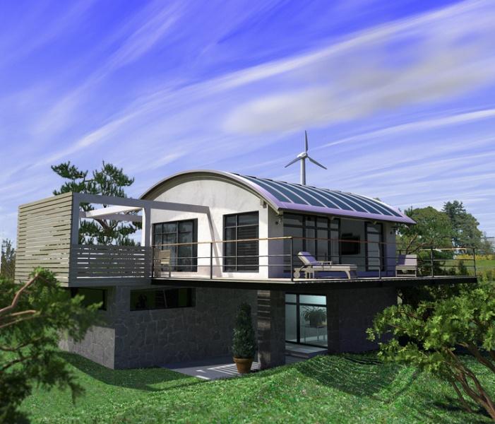 constructeur maisons caly 39 or pr sente sa maison maison passive. Black Bedroom Furniture Sets. Home Design Ideas