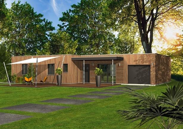 Constructeur maisons clairlande bois pr sente sa maison for Construire sa maison sans constructeur