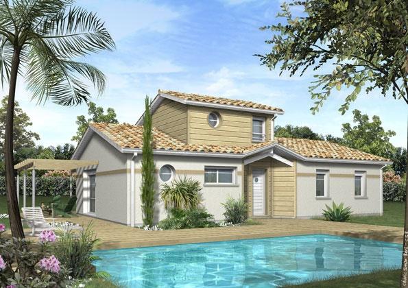 Constructeur maisons lca pr sente sa maison mod le ambre pr t d corer - Maison pret a decorer ...