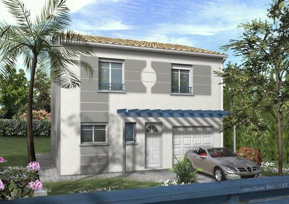 Constructeur maisons lca pr sente sa maison mod le city 80 pr t d corer - Maison pret a decorer ...