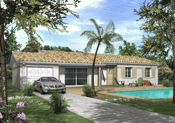 Constructeur maisons lca pr sente sa maison mod le jade 102 pr t d corer - Maison pret a decorer ...