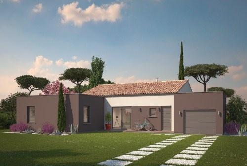 constructeur maisons ph nix pr sente sa maison volumes plain pied tendance. Black Bedroom Furniture Sets. Home Design Ideas