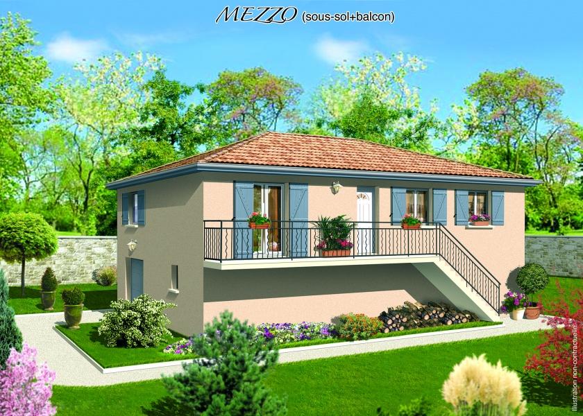 constructeur maisons punch pr sente sa maison mezzo sous sol. Black Bedroom Furniture Sets. Home Design Ideas